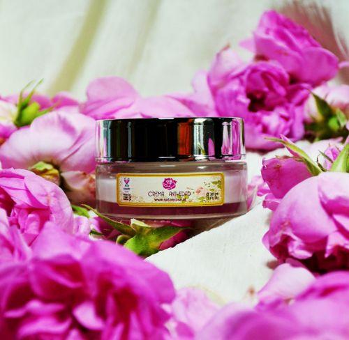 Crema de Rosa Damascena